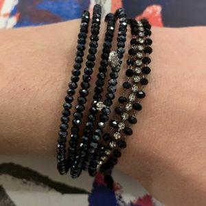 🆕NWT Anthropologie glass bead bracelet